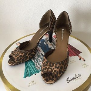 Naturalizer Parry Leopard Heels 8M